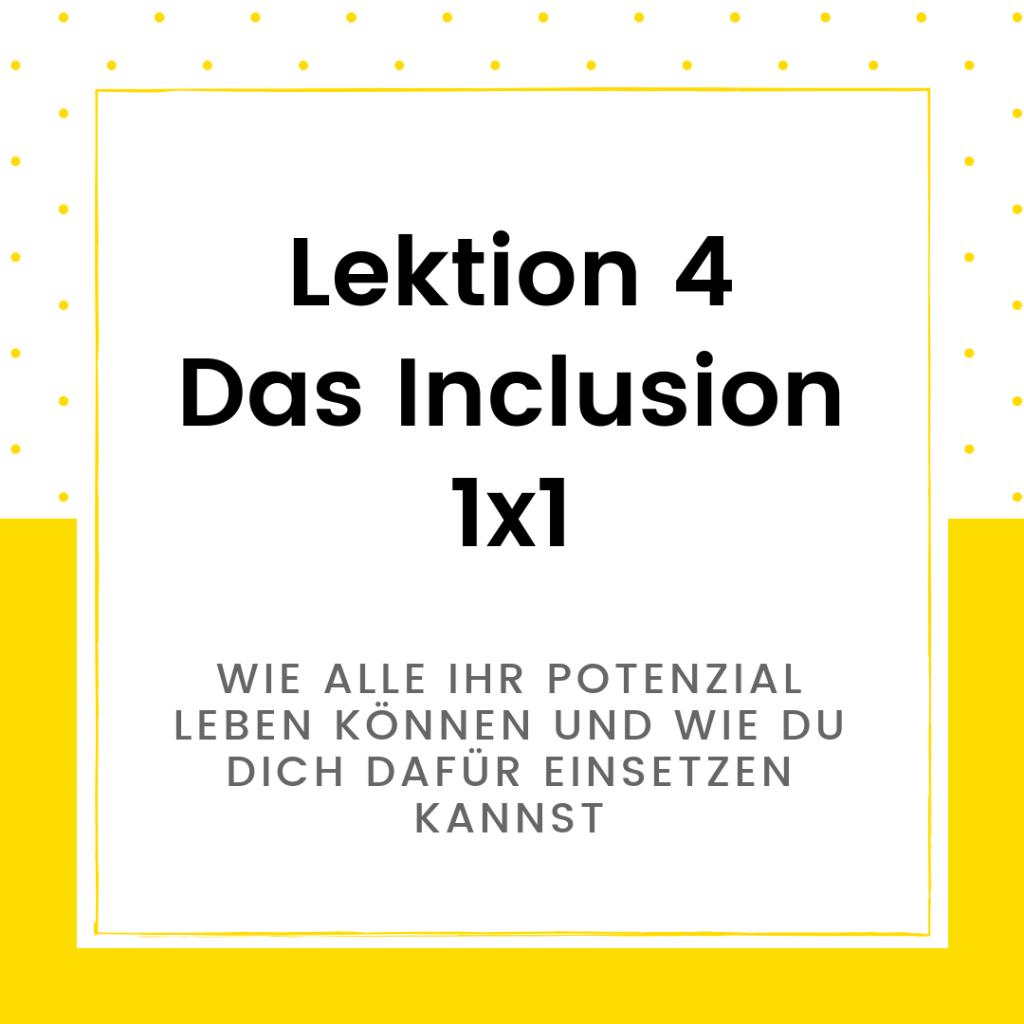 Onlinekurs Diversity Lektion 4