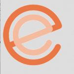 """Logo orangefarbenes """"e"""" die erfahrungsexperten"""
