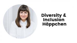 Diversity & Inclusion Häppchen mit Bild von Floria